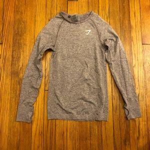 Gymshark Long Sleeve Shirt Workout Top